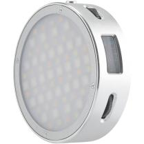 LIGHTING & STUDIO - Illuminatori a Luce Continua - Illuminatori LED 1482114 R1 Mini Led RGB tondo Silver