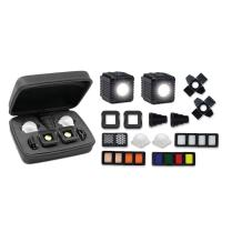 FOTOGRAFIA - Flash & On-Camera Light - LED 9065100 Kit di illuminazione portatile Professional - Lume Cube