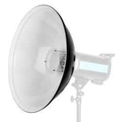 - - 9917430 Beauty dish 55 cm. silver - compatibile